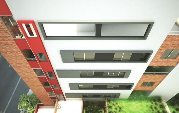 Projeto Edifício Solar dos Ferreira localizado em Belo Horizonte