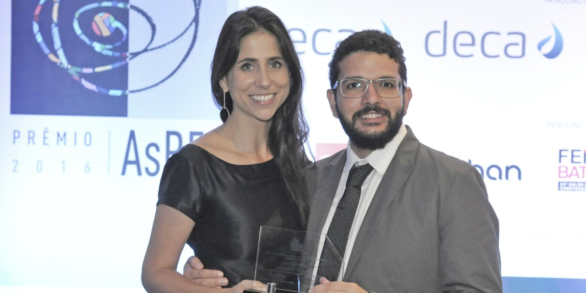 9º Prêmio AsBEA - Alessandra Carvalho e Pedro Doyle na Premiação AsBEA
